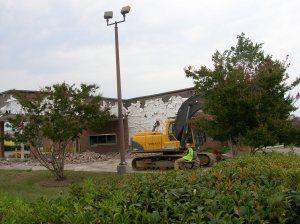 Removing the brick exterior