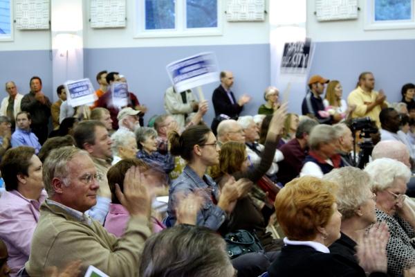 North Charleston community cheers Mayor Summey, May 19