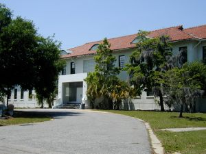Also served as Headquarters for the Naval Base Commander